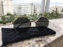 Óculos de sol Octagonal NOVO