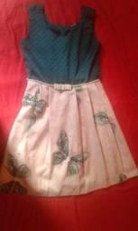 Vendo vestido infantil veste até 8 anos