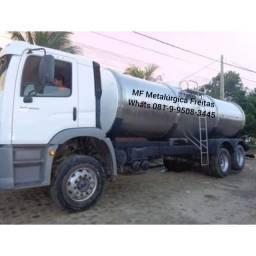 Fabricaçao de tanques em geral em aço carbono e inox
