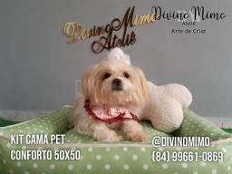 """Festival de camas Pets 100% algodão """"Divino Mimo Ateliê"""" últimos unidades!!"""