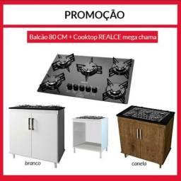 PROMOÇÃO - COOK TOP + BALCÃO