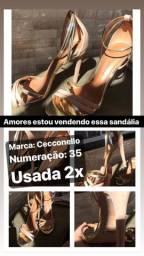 Sandálias Salto