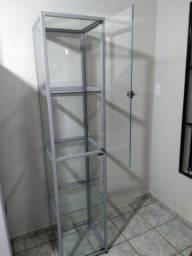 Prateleira/Expositor de vidro