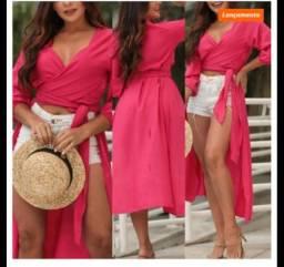 Blusão pink