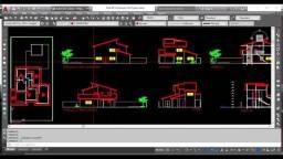 Projetos em AutoCAD p/ arquiteto engenheiro peças encanamento eletrica hidraulica