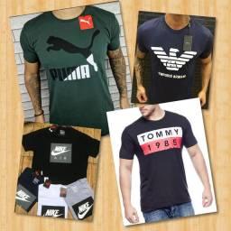 Camisas masculinas direto da fábrica