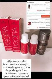 KIT RUIVO ACOBREADO IGORA+KAMALEAO COLOR