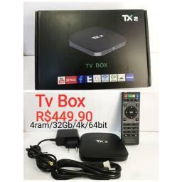 Tv box 32gb/4 Ram