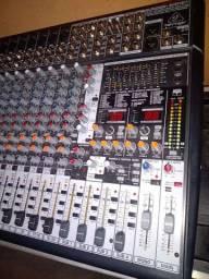 Mesa de som benring 16 canais muito show