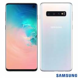 Samsung Galaxy S10 128GB 8GB Ram Tela 6.1 Dual Chip Anatel Lacrado Garantia Pronta Entrega
