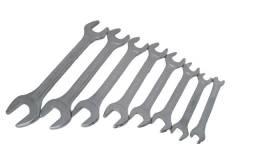 Jogo Chave Fixa com 8 Peças Medidas de 6 a 22mm
