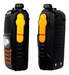 Radio Dual Band Lote 2 Baofeng UV-6r 136-174/400-520 Mhz + Fone
