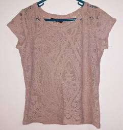 Camisa Vazada Feminina