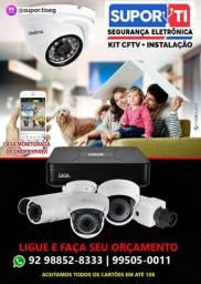 Câmeras de Segurança HD - veja pelo celular