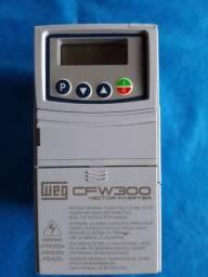 Inversor de Frequência WEG CFW 300 220V 4.2A 1CV