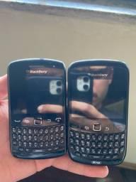 2 Celulares BlackBerry Curve (funcionando)