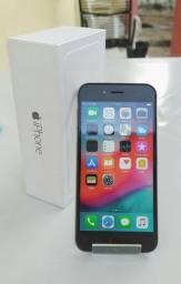 IPHONE 6 SILVER/64 GB/BATERIA 100%/RECEBEMOS SEU CELULAR USADO/DETALHES ABAIXO!