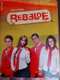 Álbum de figurinhas Rebelde - RBD