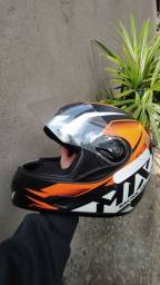Capacete usado Mix5 Racing Helmets