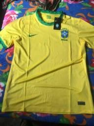 Camisa Nike seleção brasileira 20/21 Tamanho G SEM USO
