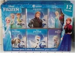 Kit Frozen c/ 12 Livros - Liquidação
