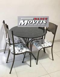Mesa 4 Cadeiras Júlia Lançamento