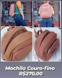 Mochila Couro-fino