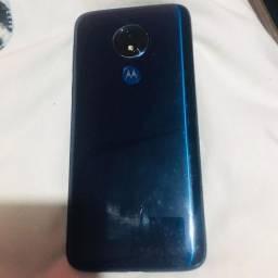 Motorola 7 Power  com a tela trincada mas não interfere em nada 1
