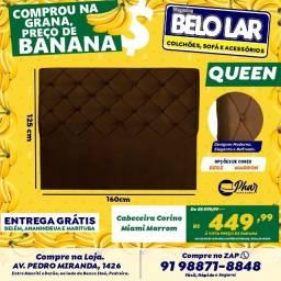 Cabeceira Queen Corino Miami, Compre no zap *