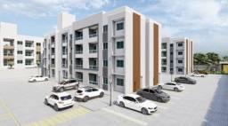 Apartamento no Potira 2 quartos 2 wc varanda e academia parcelada em 24X com Doc.gratis