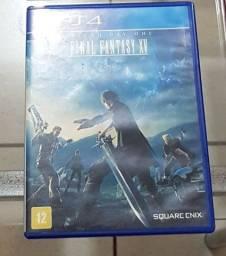 Vendo: jogo ps4 - Final Fantasy XV - edição day one.