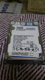 HD notebook WD320GB