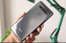LG k51s 64gb dual 4câmeras tela 6.5