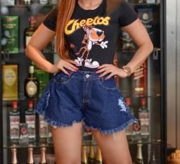 Short Jeans estilo Godê