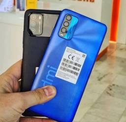 Lacrado - Celular Xiaomi Redmi 9T - 4GB Ram / 128GB Rom Global + Capinha e Película