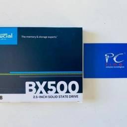 SSD Crucial BX500, 480GB, SATA, Leitura 540MB/s, Gravação 500MB/s -