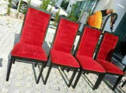 Higienização e lavagem a seco das suas cadeiras