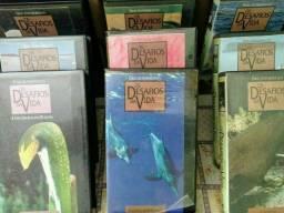 """Uma Obra Prima """"<br>- Coleção Completa em VHS  - Os Desafios da Vida<br>- São 18 fitas"""