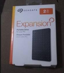 Expansion drive Seagate 2TB - NOVO