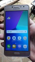 Samsung galaxy J2 Praime Dourado 16 gigas