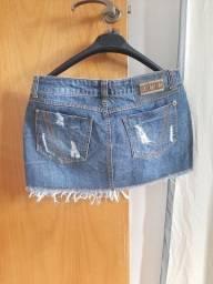 Saia jeans Planet Girls