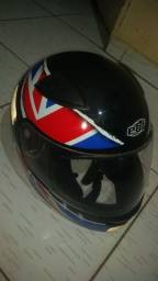 capacete ebf tamanho 60 esportivo modelo ez1