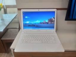 Notebook Ativ Book Samsung 4GB 500GB Intel 4° geração aceito cartão