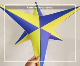 Título do anúncio: Estrela de tecido estrela enfeite para lojas