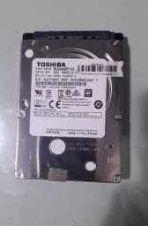 hd para Notebook ou Externo Toshiba 1 tb.
