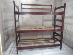 Tri-cama de madeira