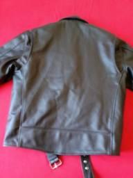 Jaqueta de couro - usada 2 vezes