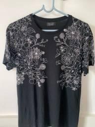 Camiseta zara preta
