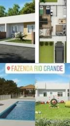 !/\! Casas 2Qts C/ Quintal Faz. Rio Grande | Documentação e Entrada Parcelada *