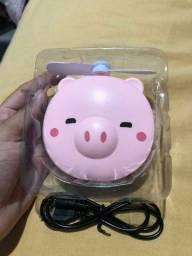 Mini ventilador para maquiagem